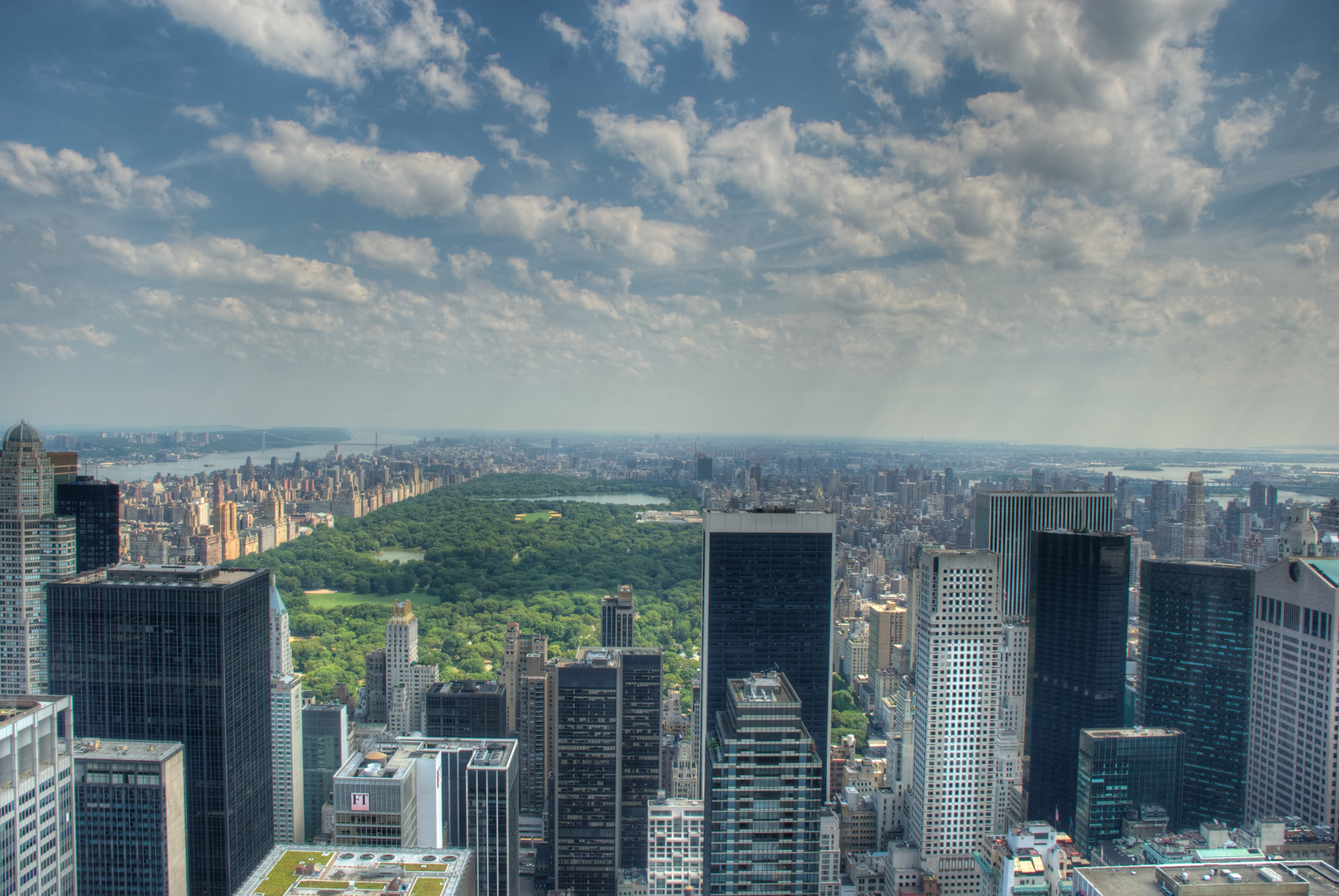 Top of the Rock - Central Park View