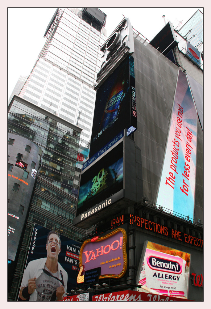 Top of the World...Times Square