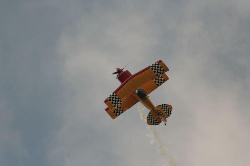 Top Pilot - Top Maschine - einzigartige Show