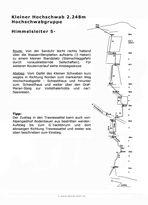 Topo und Routenbeschreibung