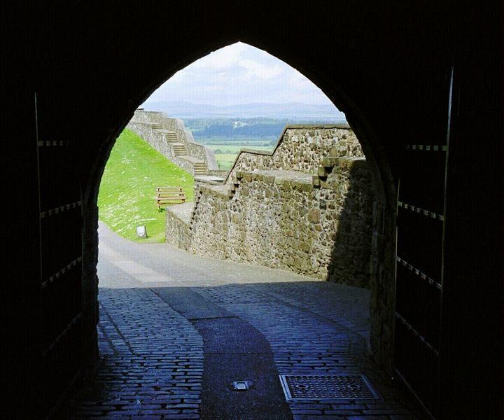 Tor auf Stirling Castle
