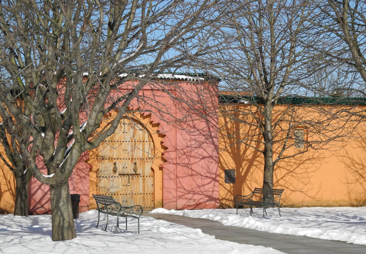 Tor des Orientalischen Gartens in Marzahn