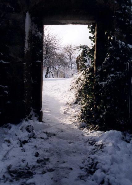 Tor zur Winterwelt