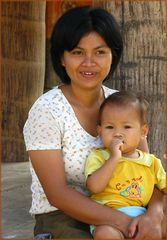 Toraja Frau- Indonesien