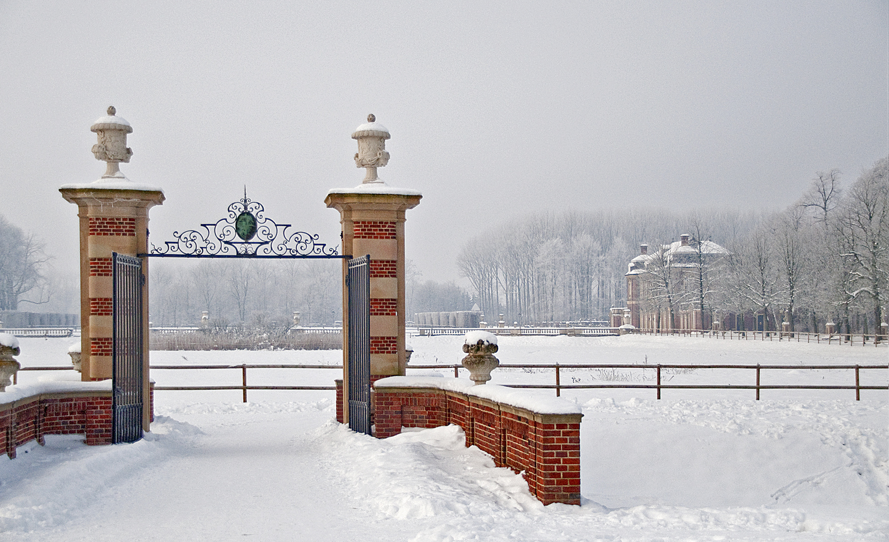 Tore zum Schloss Nordkirchen in 2011