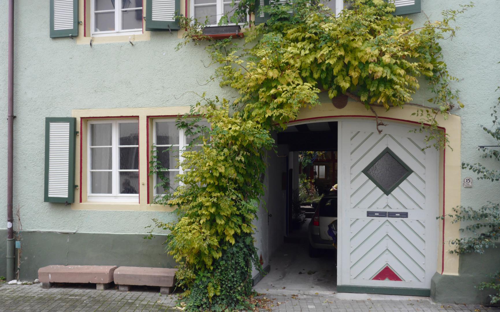 Toreinfahrt in Staufen