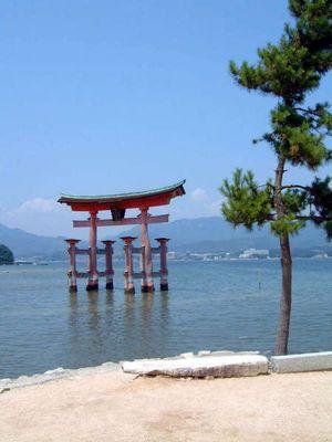 Torii in Miyajima