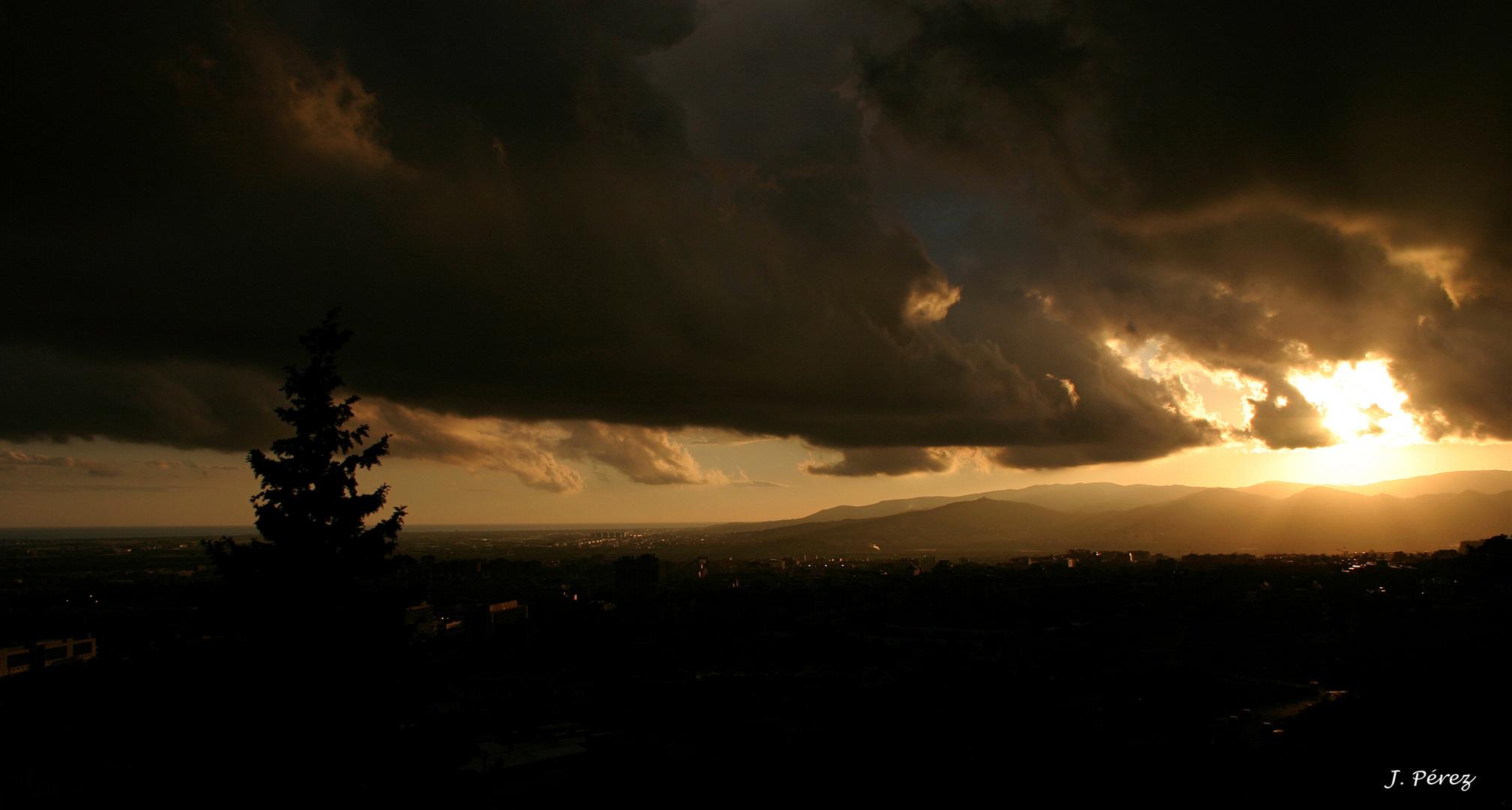 Tormenta sobre el Baix Llobregat 1