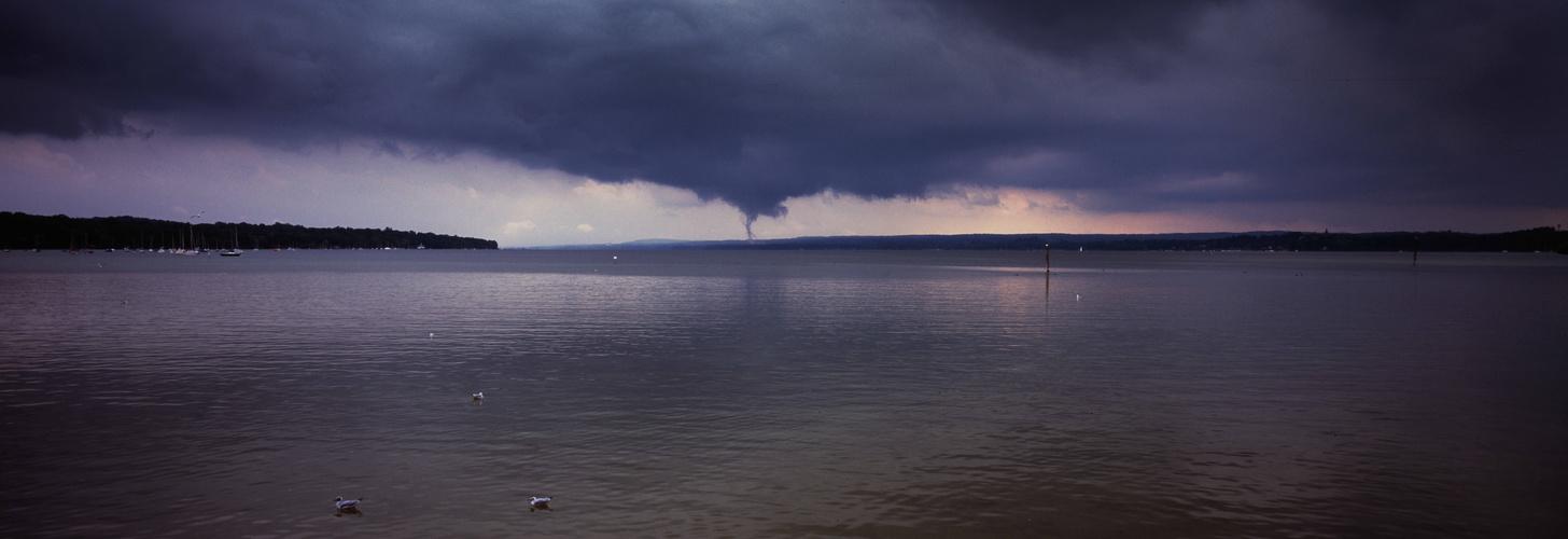 Tornado am Ammersee 1.9.13