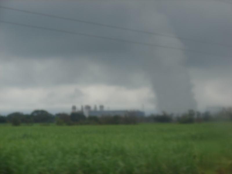 tornado en el campo