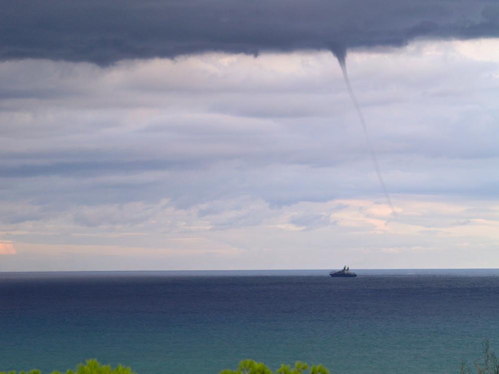 Tornado in Kélibia