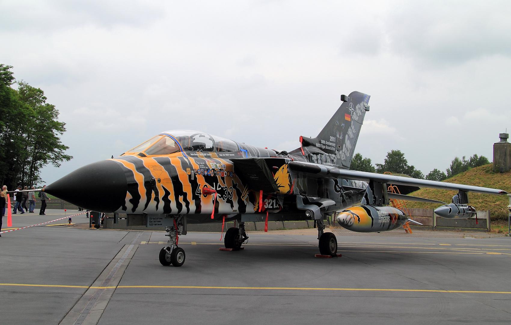 Tornado mit Bemahlung für NATO Tiger Meet