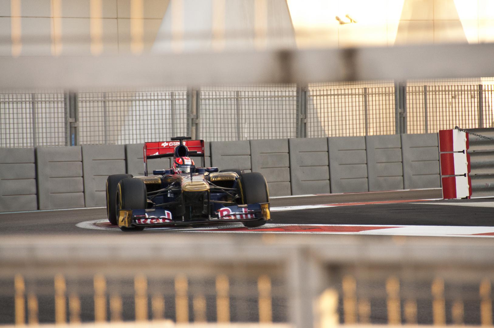 Toro Rosso in Abu Dhabi 2011