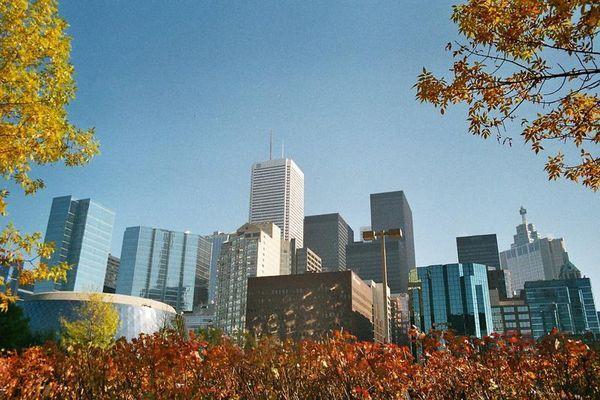 Toronto im Herbst
