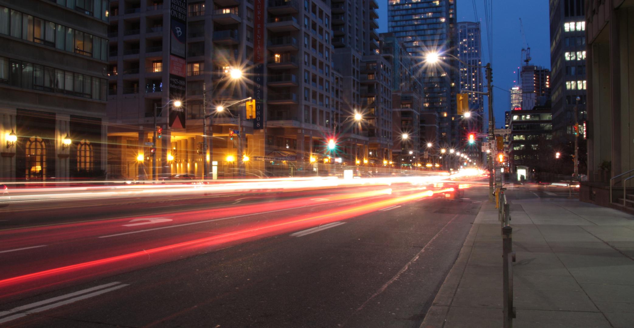 Torontos Straßen be