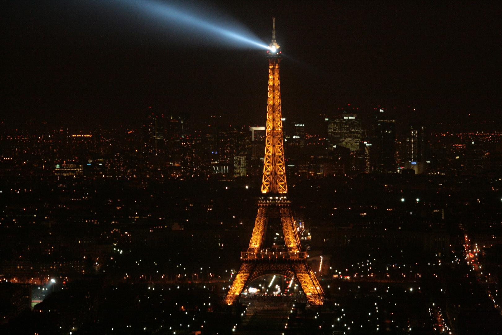 Torre Eiffel desde torre montparnasse