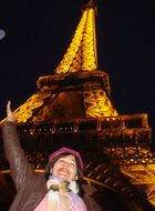 """Torre Eiffel- Paris (""""Copyrignt Tour Eiffel-Iluminations Pierre Bideau"""")"""