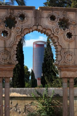 Torre Pelli desde la Cartuja