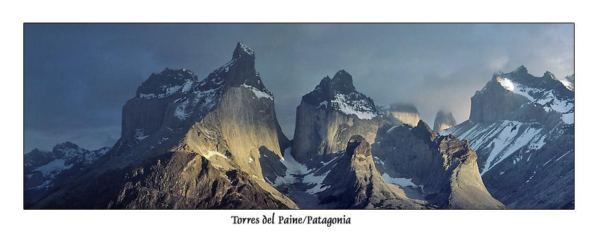 Torres del Paine, Patagonien