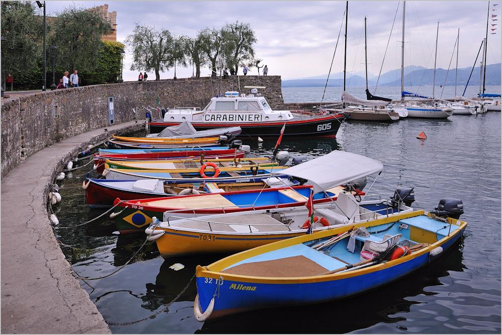 Torri del Benaco - Im Hafen