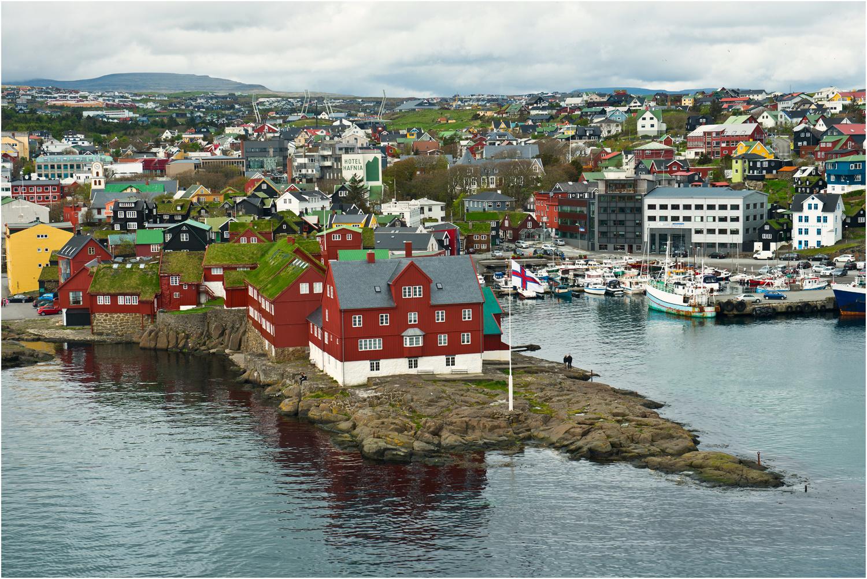 Torshavn auf den Färöer Inseln