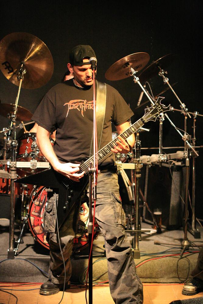 Tortarry (Deathmetal Tschechien) live in Lovosice