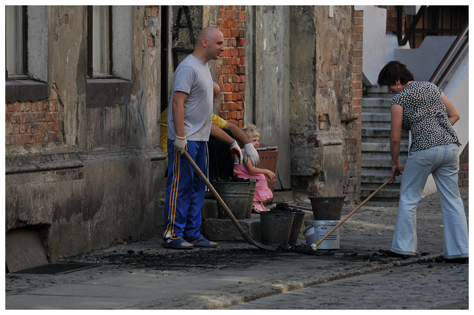 Torun - Arbeitsteilung in der Altstadt - Polen