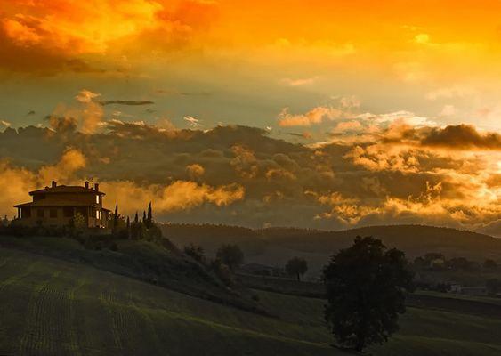Toscana-Abend