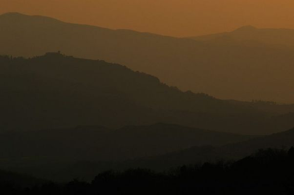 Toscana-Abendlicht