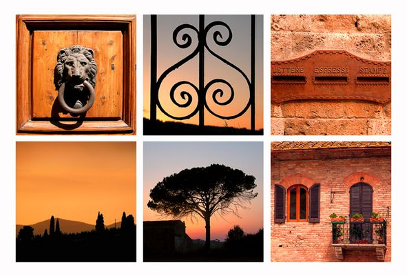 Toscana - Ein Traum der Farben