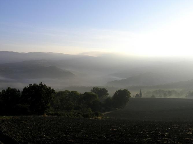 Toscana erwacht