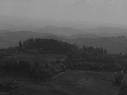 Toscana - Nebeltag in SW