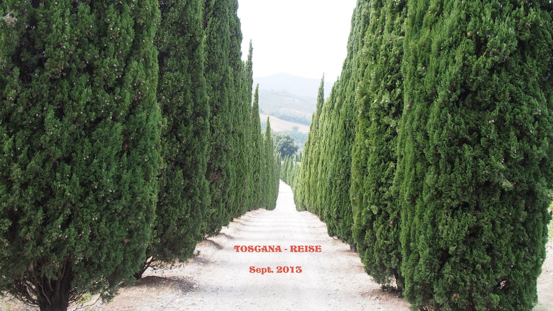 Toscana-Reise 2013