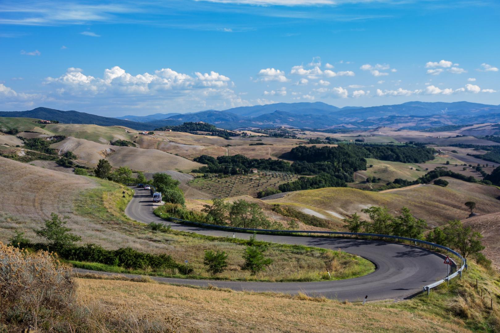 Toscanische Landschaft 1