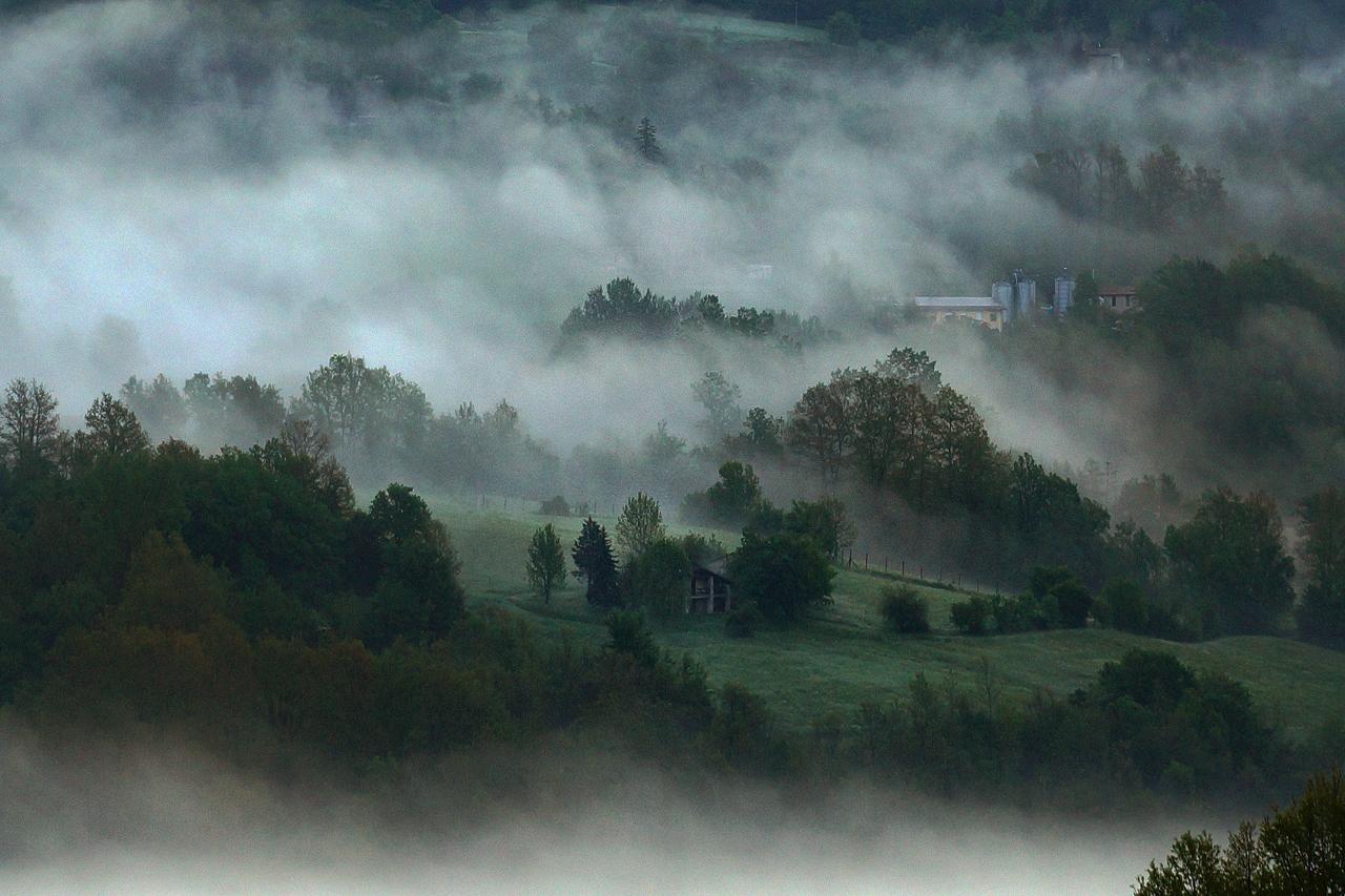 Toskana Nebelstimmung