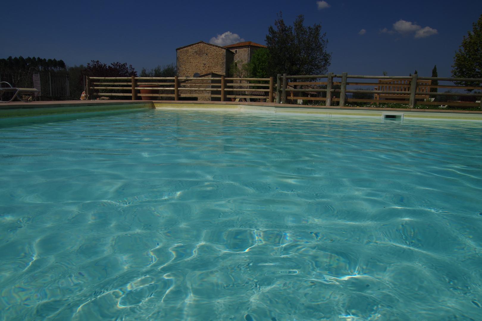 Toskana, Stigliano, Swimmingpool