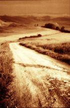 Toskana/Weg ins Endliche