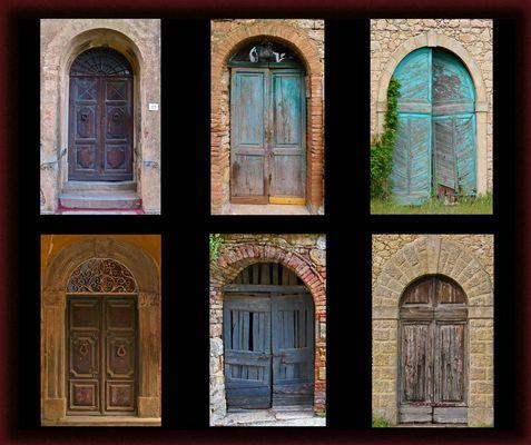 Toskanische Türen