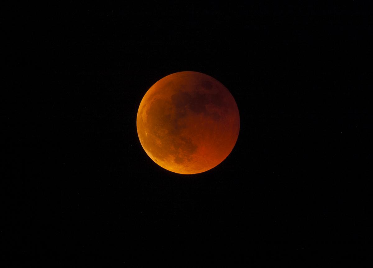 Totale Mondfinsternis 2011