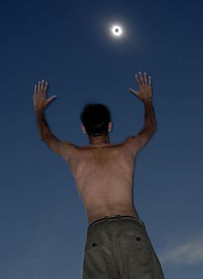 Totale Sonnenfinsternis 2006 - etwas anders