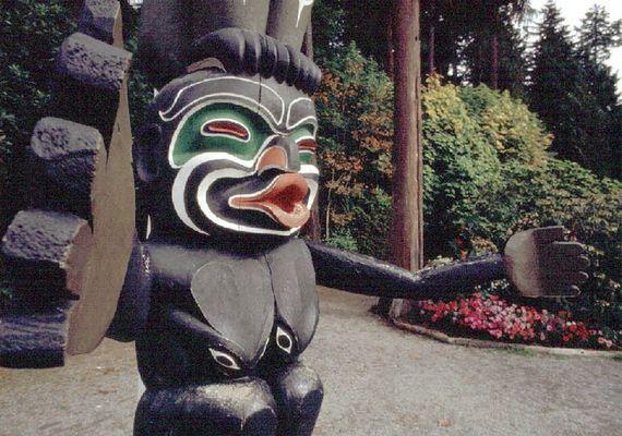 Totem / Britisch Columbia-Canada
