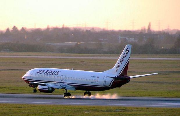 Touchdown Air Berlin @ Düsseldorf International