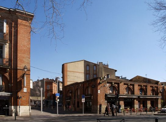 Toulouse 9 - La Place St Pierre – Der Platz St Pierre…
