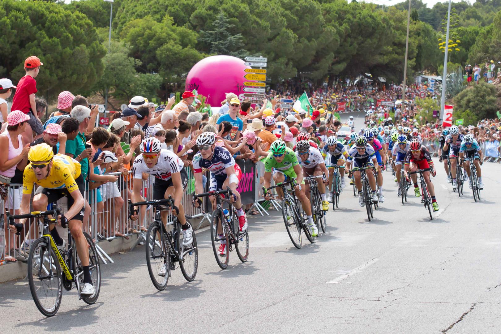 Tour de France 2012 / Zielsprint