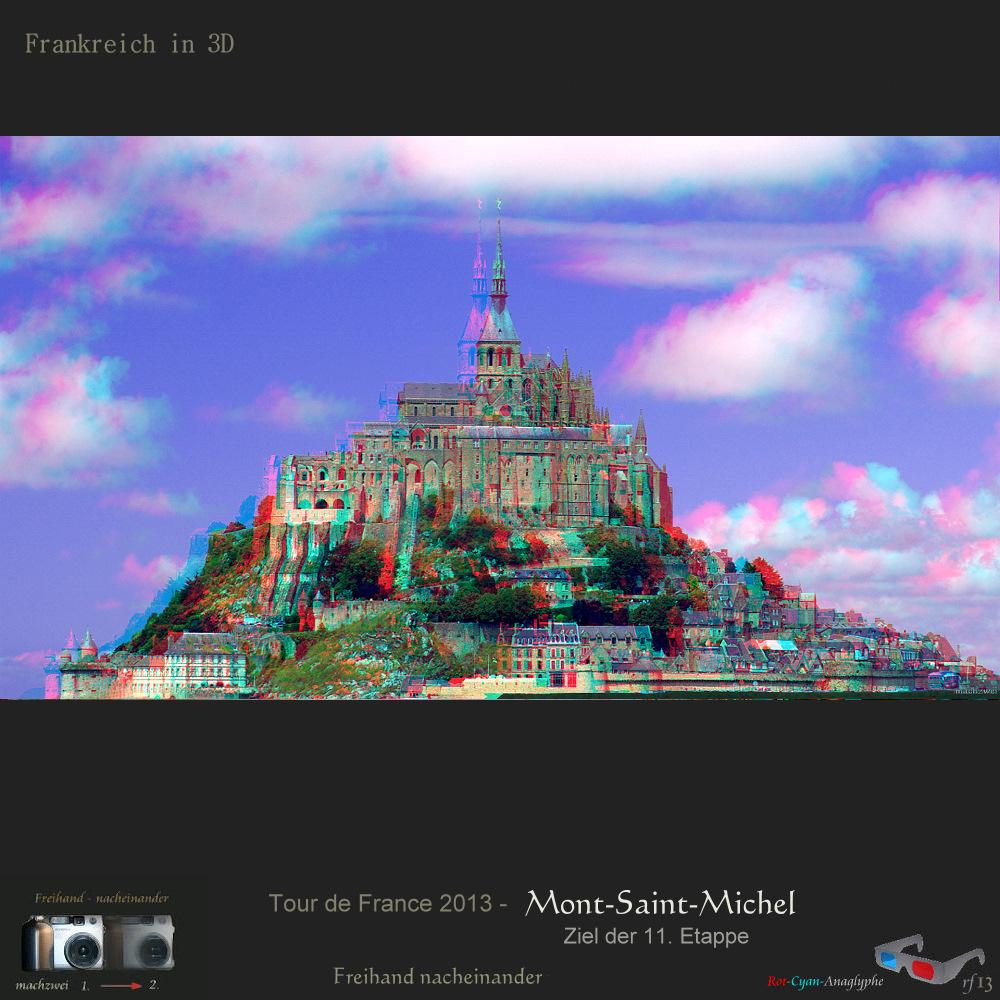 Tour de France 3D: Mont-Saint-Michel 11.Etappe + mpo für 3D-TV