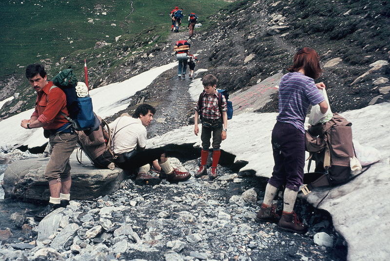 Tour du Mont Blanc 1980 (3)