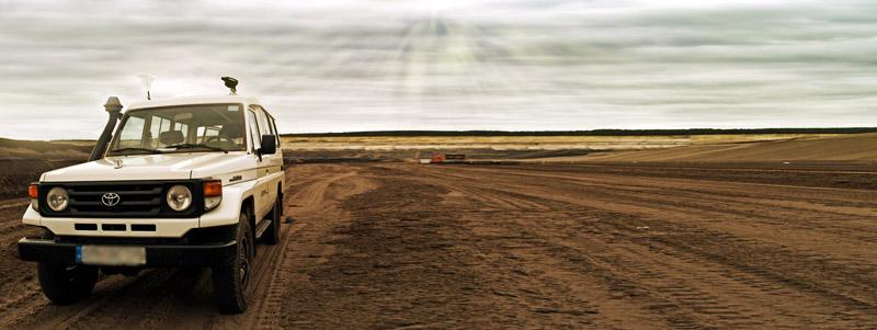 Tour durch den Tagebau!