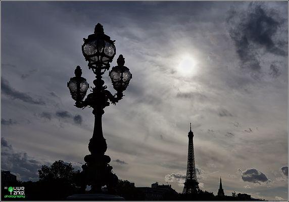 Tour Eiffel - Abendstimmung