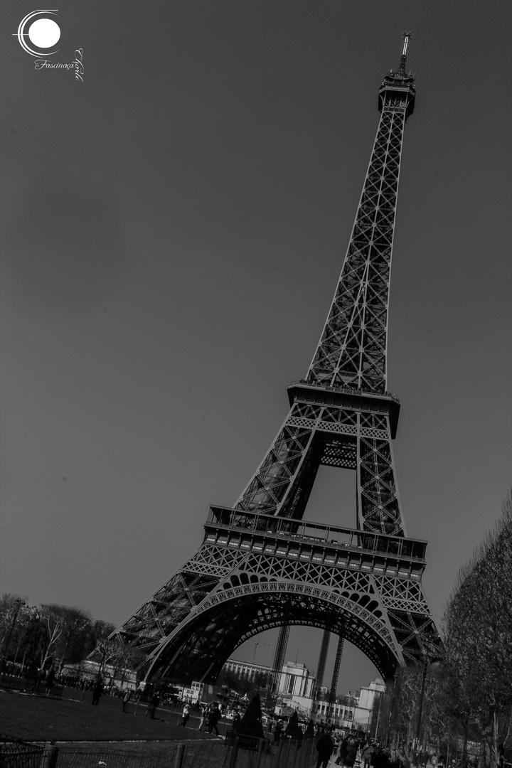 Tour Eiffel - Dressed in Black