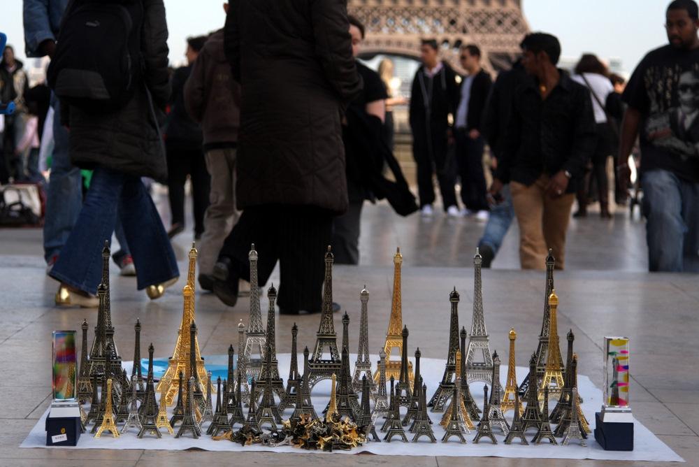 Tour Eiffel en miniature
